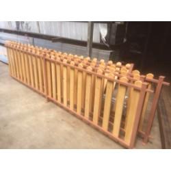 Περιφραξη ξυλινη