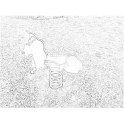 Αλογακι ελατηριο